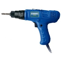electric screwdriver with replaceable carbon brush