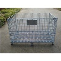Collapsible Steel Wire Mesh Cage