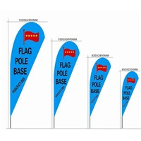 Heat transfer Tall Teardrop Flag Banner with Custom Printed Flag Feather Banner Beach Banner