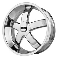 Verde Custom Wheels Skylon Chrome Wheel (18x8