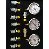 excavator hydraulic pressure gage,pressure testing kit,common excavator all can use