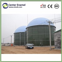 Center Enamel Bolted Steel Tank with Glass Coating