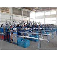 PVC decorated profile making machine/pvc trim strip making machine