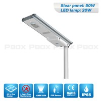CE RoHs Certification Lithium Battery Solar Road Light