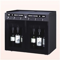 6 bottles wine cooler, wine dispenser