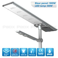 China Factory All In One Solar Street Light with Motion Sensor