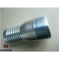 Galvanized carbon steel king combination nipple/ KC Nipple