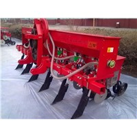 2BYQFH-4 4-rows pneumatic corn seeder Vacuum corn/soybean planter corn seed planting machine