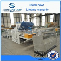 Automatic wire mesh welding machine for panel and rolls