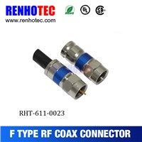 2016 High quality Compression F connector plug RG6 Cable