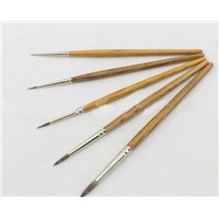 synthetic nylon artist drawing brush