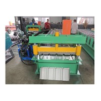 Wall & Roof Panel Steel Roll Forming Machine