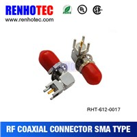 2015 New Sma Jack 90 Degree PCB Mount Connector Dustproof