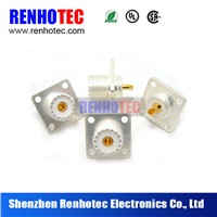 Hot Dosin Factory UHF Female connector with flange and female pin