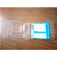 Plastic Clamshell Container with paper card