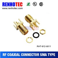 2015 New Cheap SMA PCB Mount Female Connector