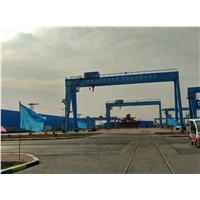 Henan Yufei brand double beam gantry crane with top quality
