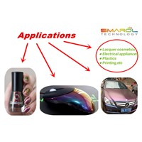 chamelon pigment for car, for nail polish