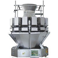Automatic combination multihead weigher for nut fruit