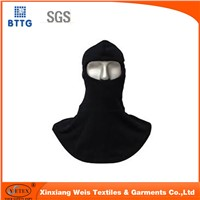 Cotton/Nylon anti-fire and waterproof hood for flame retardant