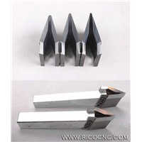 Carbide Wood Lathe Cutters CNC Woodturning Knife Tools
