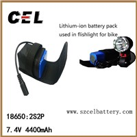 Battery pack for bike light ,flashlight , beauty equipment.