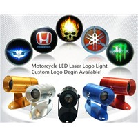 LED Logo Laser Projector Light for Motorcycles,Custom Logo Design Available!