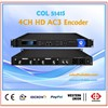 COL5141S 4 channels hd-sdi to ip encoder with CC (AC3 optional)