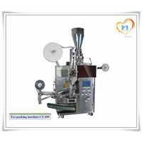 CT-189 Stainless steel tea bag packing machine with inner and outer bag