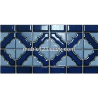 Ceramic Border Mosaic Tile BCZG011A