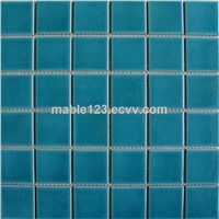 Crackle pool mosaic -Green color