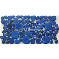 Crystal Glazed Pebble Border