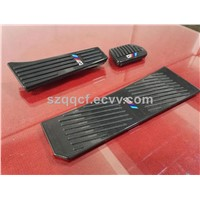 carbon fiber auto parts  Carbon fiber auto brake pedal and  gas pedal