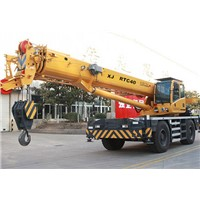 rough terrain crane 40ton, mobile crane, RT crane, wheel crane