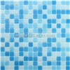 Wholesale  Swimming Pool Mosaic Melting Glass Mosaic