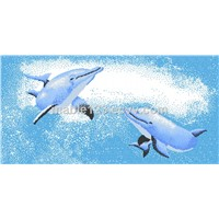 Mosaic gallery , Dolphin picture for swimming pool