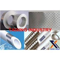 aluminium strip coated glue for ppr stable pipe
