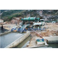 mineral washing plant for stibnite ore washing process