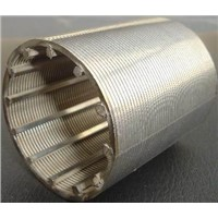manufacture stainless steel wire mesh wedge wire screen