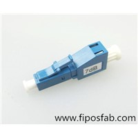 LC Plug Type Male to Femail Fiber  Optic Attenuator