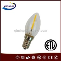UL e14 led filament 0.5 Watt New product led filament e14 led filament 0.5W C7