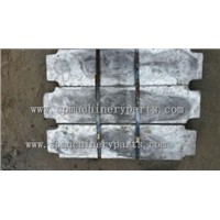 Wholesale supply hot sale Cast lead Counterweight in elevator parts