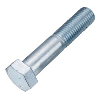 hex bolt Gr8.8 DIN931 DIN933 black