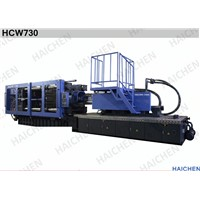 High Speed 730 Tons Plastic Injection Molding Machine , Plastic Chair Moulding Machine