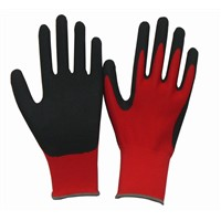 13Gauge Seamless Knitted Polyester Nitrile Coated Glove, Work Glove