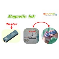Magnetic ink for logo printing Offset Printing color black and brown