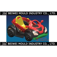 Custom Plastic child toy car mould maker