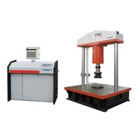 Servo manhole cover compression testing machine