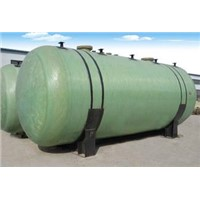 FRP horizontal vessel