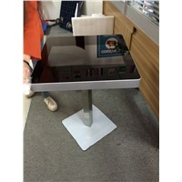 Restaurant food order function touch screen table / coffee touch table /gaming touch screen table